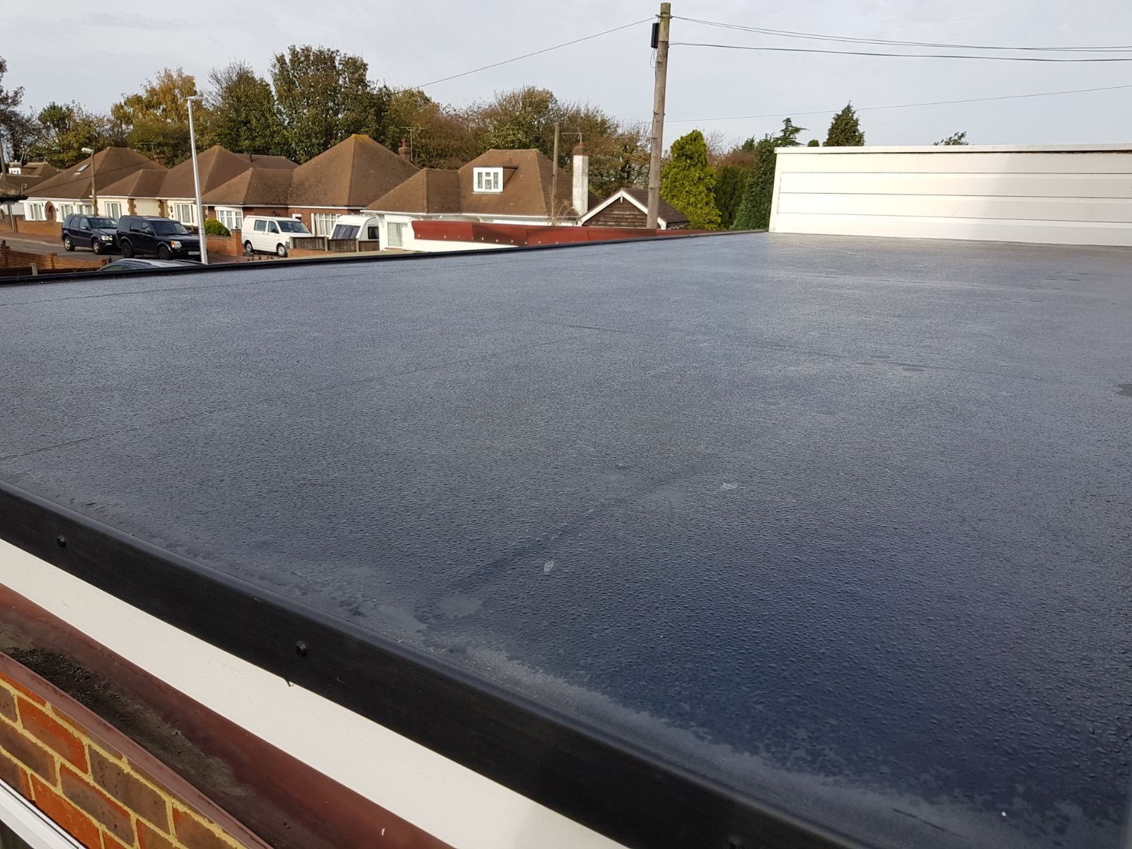 EPDM RubberCover install, fitters, roofers